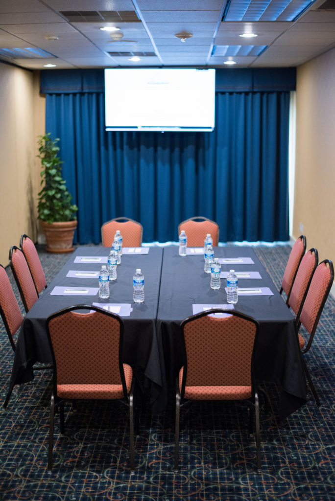 Our smallest breakout room can still handle your board meeting.